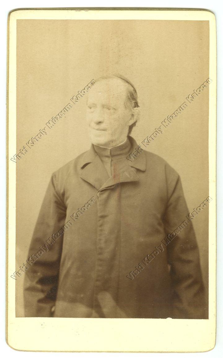 Fénykép: Rosty Kálmán (1832-1905) a jezsuita gimnázium tanára.